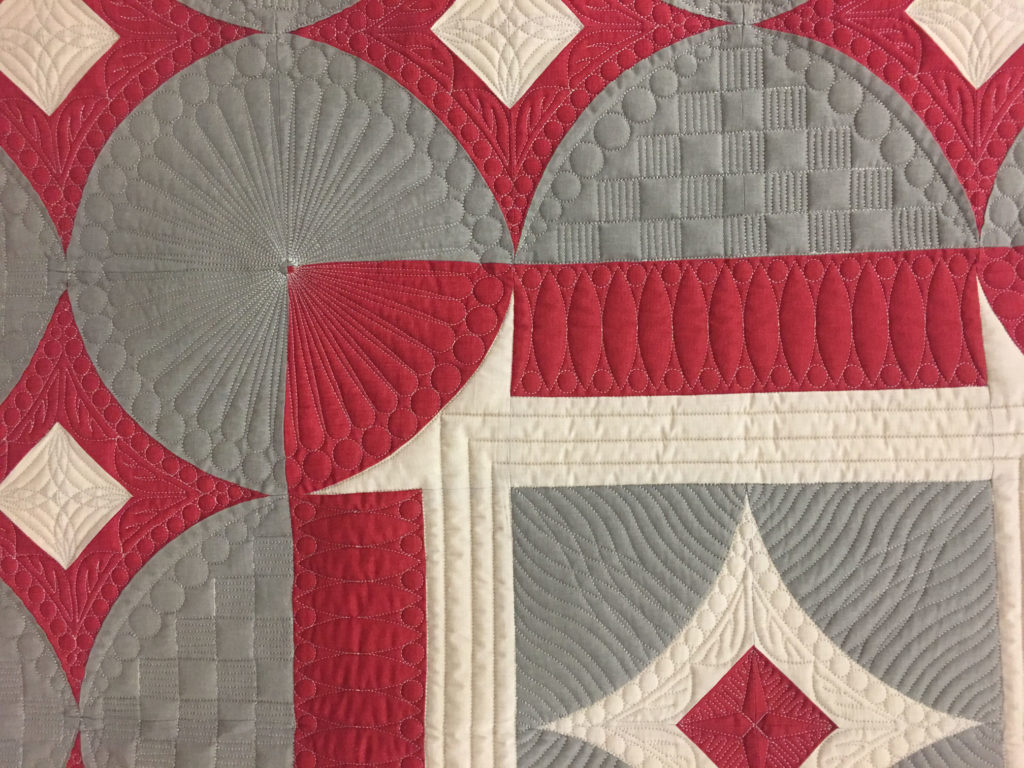 "515 ""French General the Modern Way"" made and quilted by Pam Knight"